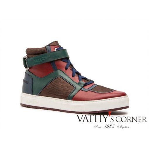 a.testoni magasszárú sneaker M70346ANH