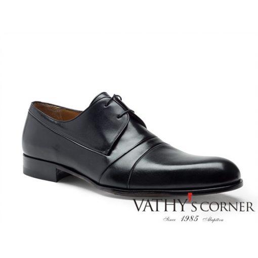a.testoni derby fényes borjúbőr cipő M12493 VEH